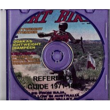 Dirt Bike Magazine Reference Guide 1971 - 1999