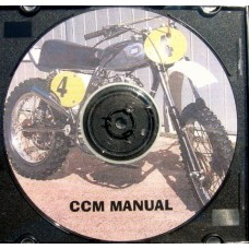 CCM Manual from 1976. 500-600cc